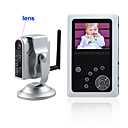 2,5 pollici TFT LCD 2.4GHz Wireless Baby Kit dvr monitor con telecamera wireless ky-2000 (sfa83)