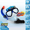 Diving Snorkle Underwater Scuba Mask Camera DVR with 1280*960 Definition Anti-fog Glass and 4GB Memory (DCE228)