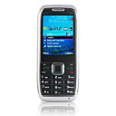 E71i Quad Band Dual Card Dual Standby TV Function Dual Camera Bar Cell Phone Black (2GB TF Card)