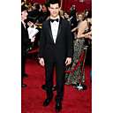 2010 Oscar Taylor Lautner  1 Button  Non-vented Shawl Lapel Narrow Groom Wear/ Tuxedo/ Men's Suit Jacket and Pants