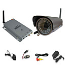 2.4GHz Wireless Color Security Camera System with Microphone and 45m Night Vision (SFA-010224)
