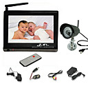 2.4GHz baby monitor da 7 pollici con 1/4 &quot;sharp videocamera visione notturna ccd