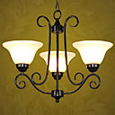 Modern 3-light Iron Chandelier(0810-2056-3B)