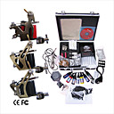 Livraison gratuite Kit Professionnel TATTOO MACHINE srie complte avec 3 machines gun Tattoo (0359-03.16-T038)