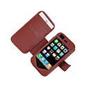 Leather Case for iPhone 3G/3GS - Horizontal Style (2 Colors Per Pack)(CZAH041)