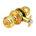 Zinc Alloy Keyed Entry Door Knob Lock (0799-5898-ET)