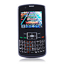 K700 Dual Card Quad Band Dual Camera JAVA QWERTY Keypad Cell Phone Black (2GB TF Card)