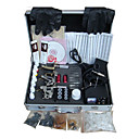 Livraison gratuite tatouage kit machine srie complte avec 3 mitrailleuses de tatouage (0359-5.26-52)