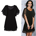 Fashion Idols Style / Lace Frills Sleeves Dress / Women's Dresses (FF-1801BE001-0857)