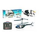 3CH RC Helicopter With Gyro Digital Infrared Radio Remote Control Helicopters Indoor Toy(Black)(YX02679K)