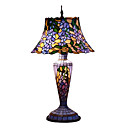 Tiffany-style Floral Purple Table Lamp(0923-T27)