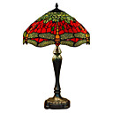 Tiffany-style Jewel Red Table Lamp(0923-T25)