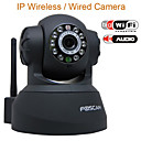 Black Original FOSCAM IP wireless camera internet 10 LED WHT