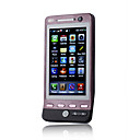WG3 WIFI FM TV Dual Card Quad Band Dual Camera Bluetooth 3.2 Inch Touch Screen Cell Phone Black