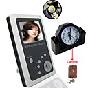 2.5 Inch TFT LCD 2.5GHz Motion Detection Wireless DVR Baby Monitor Kit and Remote Control Clock Camera Kit(SFA1051)
