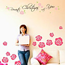 Adhesive Flower Wall Sticker (0940-WS44)