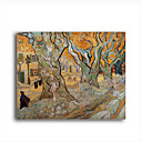 Stretched Canvas Handmade The Road Menders,c.1889  Painting by Vincent Van Gogh  0192-YCF103209