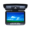 9 Inch Flip Down Roof Mount Car DVD Player Support FM Transimitter Wireless Game USB/SD Connecting