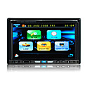 7 &quot;con pantalla digital de 2 Din Car DVD-multi-fondos de escritorio-radio-tv-bt-ipod-control del volante (szc5658)