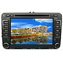 "7"""" TFT LCD Digital Touch Screen 2 Din Car DVD Player - GPS - DVB-T- CAN BUS - FM - BT - IPOD - RDS For Skoda Superb-GOLF5-GOLF6 2007-2009"