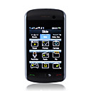 v9530i wifi tv dual card quad band celular preto (cartão de 2GB TF)