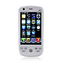 W007 Dual Card Quad Band TV JAVA WIFI 3.2 Inch Touch Screen Cell Phone White(2GB TF Card)
