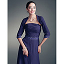 3/4-length Sleeves Chiffon Special Occasion Jacket/Wedding Wrap