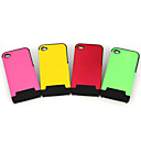 Silicone Protective Case for iPhone 4 - Grid (4 Colors Per Pack)(CZAH264)