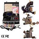 damas de premire qualit fabriqus  la main tatouage 3 machines kit avec alimentation suprieure conduit (ly189)