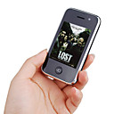 V808 WIFI Dual Card TV JAVA Dual Camera Flashlight Touch Screen Cell Phone Black(2GB TF Card)
