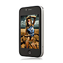 I68+ Pro 4G Quad Band Dual Card WIFI 3.2 Inch Touch Screen Cell Phone Black(2GB TF Card)