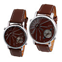 EYKI Japnese Quartz Movement Round Case Couple His-and-hers Watches(0449-W8399GL)