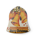 Christmas Bell Compressed Towel Small Jingle Bells