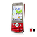 F111 TV Facebook eBuddy Dual Card Quad Band Touch Screen Cell Phone