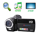 "hd 1280 * 720 @ 30fps 5MP 8xdigital zoom digitale video camera met 2.7 ""TFT LCD-scherm voice recorder functie (hd-c2)"