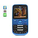 arndanos - qwerty dual sim telfono celular cuatribanda + tarjeta de 2GB TF libre