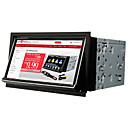 7 polegadas touchscreen digitais carro pc dvd player com gps tv wifi/3g
