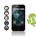 Android 2.2 w smartphone wifi / 3,5 pulgadas de pantalla tctil capacitiva + gps (rojo)