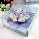 Lavender Rose Shaped Towels(set of 2)
