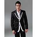 Single-Breasted 2 Button Notch Lapel Non-vented Groom Wear/ Tuxedo/ Men's Suit Jacket and Trousers