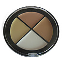 natuurlijke finish concealer make-up palet no.2 (4 kleuren)