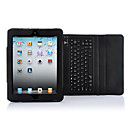 Water-proof  Wireless Bluetooth Keyboard with Leather Case for iPad