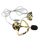 Camouflage Style Microphone Earphone for Xbox 360