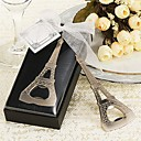 La Tour Eiffel-Eiffel Tower Chrome Bottle Opener
