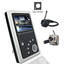 2.5 Inch TFT LCD 2.4GHz Wireless DVR Baby Monitor Kit with Small Camera