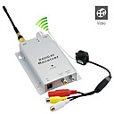 1.2ghz micro pinhole wireless a / v com cmera pal receptor set (xh-06)