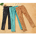 Lace Pocket Skinny Pants