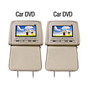 7 Inch Car DVD Player with FM Transmitter Game Free Headphones (1 Pair)