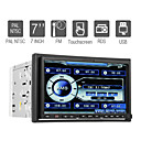 7 pulgadas 2 DIN Car DVD Player con GPS Bluetooth DVB-T dual RDS zona
