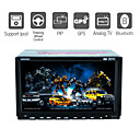 7 Inch Digital touch screen 2Din Car DVD Player with GPS Bluetooth TV RDS